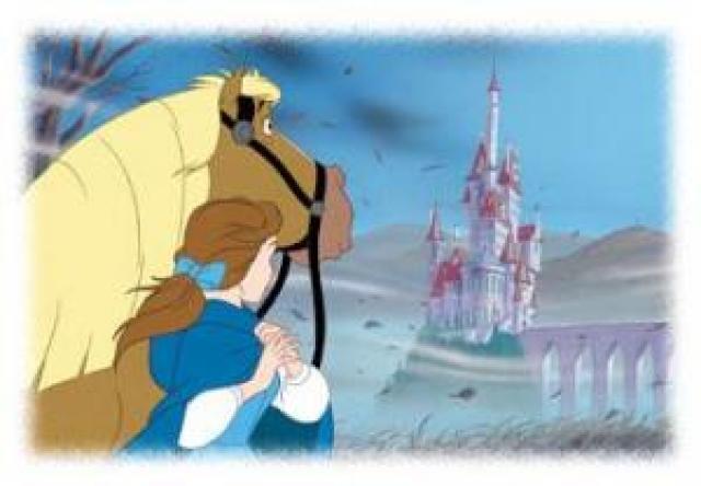 De nuevo sale el castillo, ya que el caballo le lleva hasta donde se ...