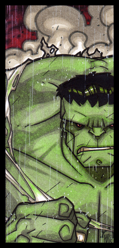 MiniMasterpieces - The Hulk por Aerion-the-Faithful