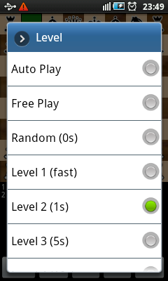 Android Chess - Levels