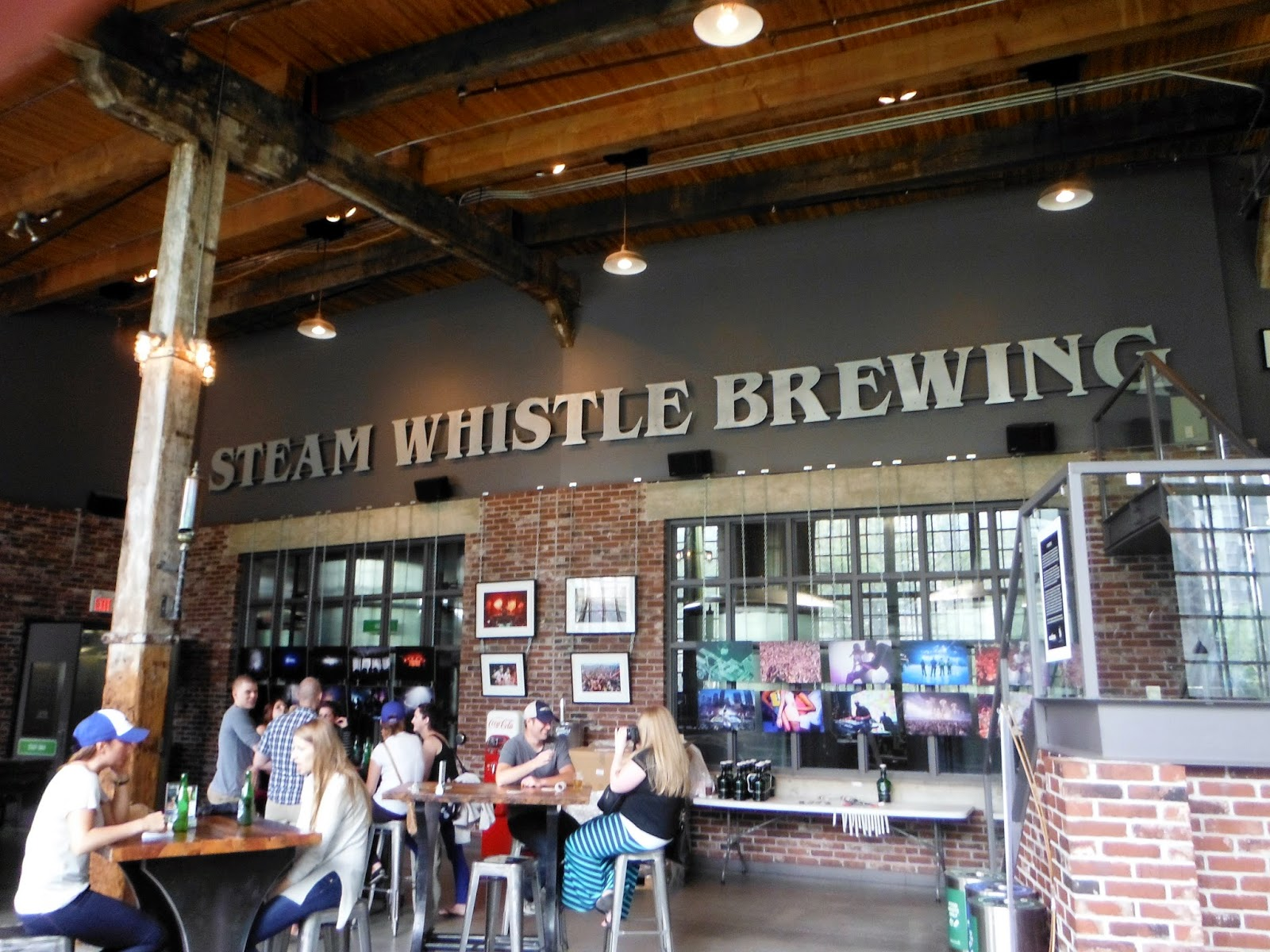 Steam Whistle Brewery located at The Roundhouse, Toronto, Ontario, Canada, Melanie.Ps, Beer, Brewing, Explore, Visit, Tour, The Purple Scarf, Lifestyle