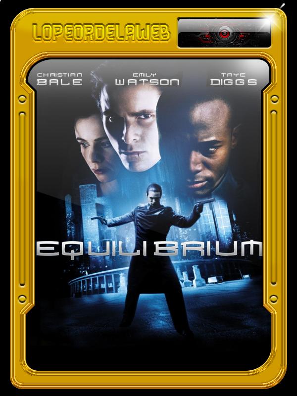 Equilibrium (2002) Ciencia Ficción [BrRip-720p-Dual-Mega]