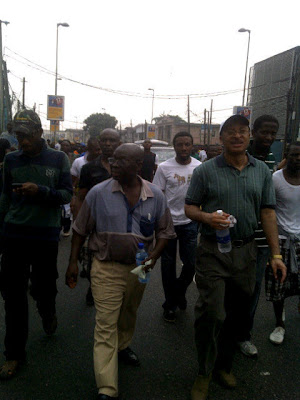 Photos From Today's #OccupyNigeria Protests In Lagos 5