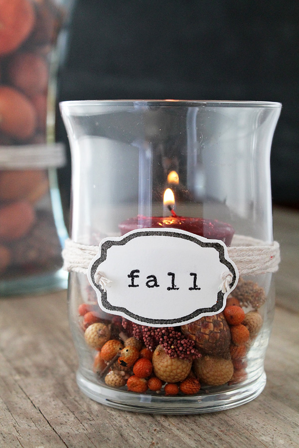 Decorated Vases For Fall With Silhouette Stamping Kit Love Grows Wild