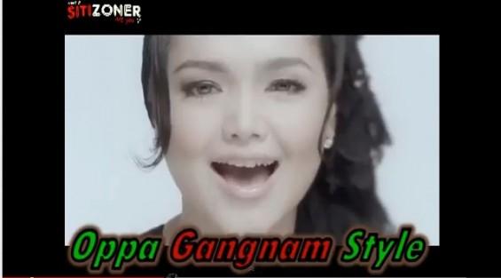 Bila Siti Nurhaliza Menari Gangnam Style - Kelakar