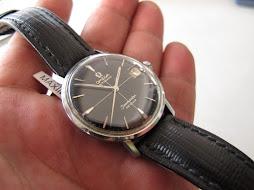 SOLD OMEGA SEAMASTER DE VILLE BLACK CROSS HAIR DIAL - AUTOMATIC