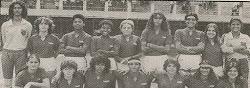 Equipe Feminina do Bonsucesso.