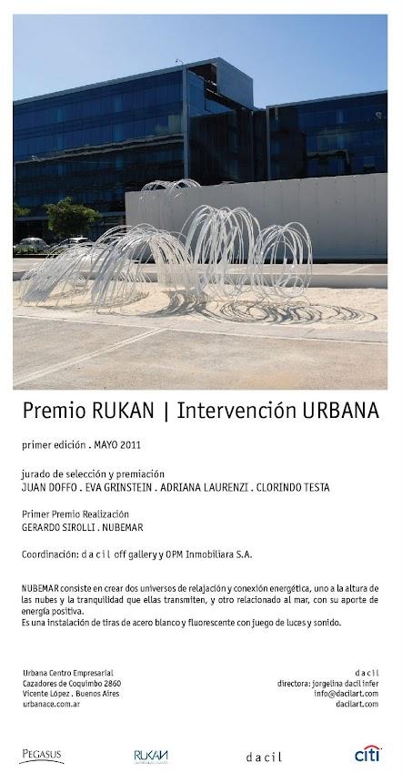 Premio Rukan - Intervención Urbana