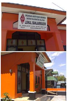 Kantor Sekretariat ORARI lokal Banjarmasin
