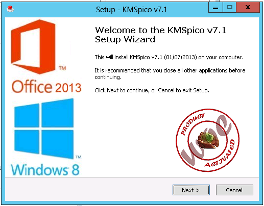 activate ms office 2013 offline