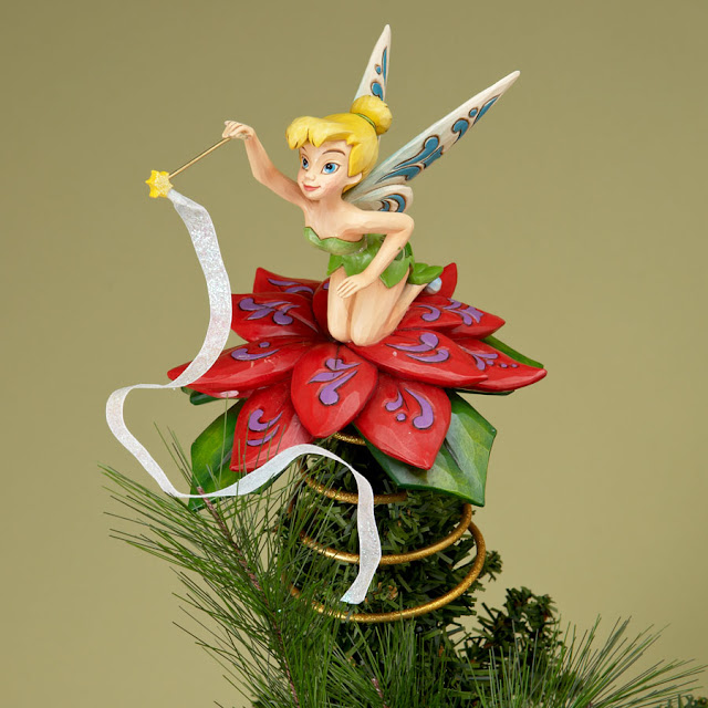 tinkerbell christmas figurines - photo #1