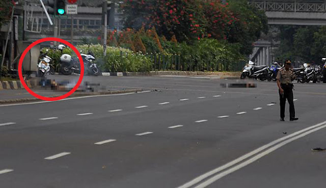 Video Lengkap Detik-Detik Ledakan Bom di Sarinah