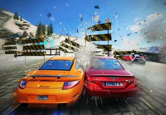 Asphalt 8 - Airborne for the iPhone and iPad available for free download