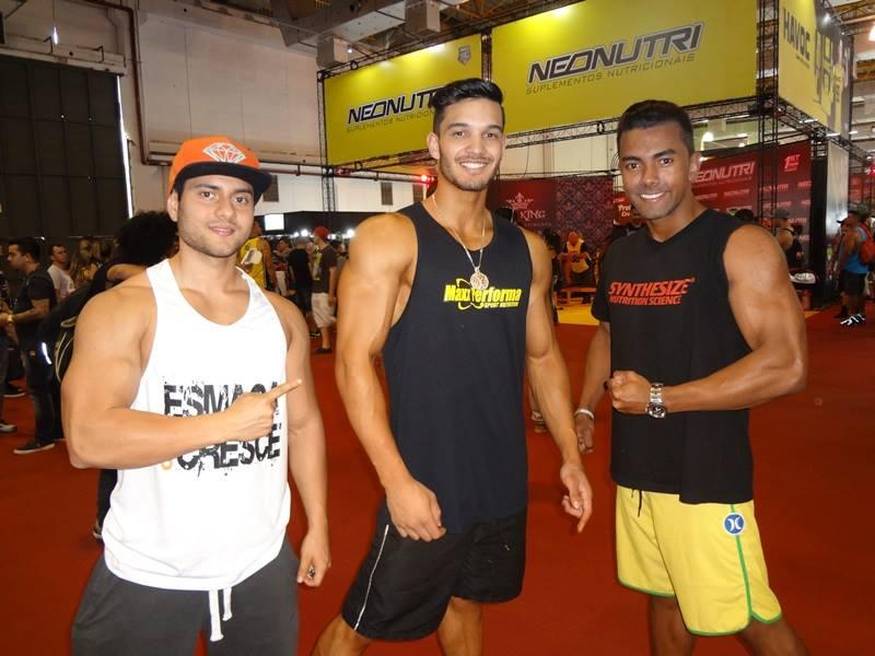 Lucas Toyama, Kleyton Santos e Diego Rodrigo. Foto: Alan Azevedo