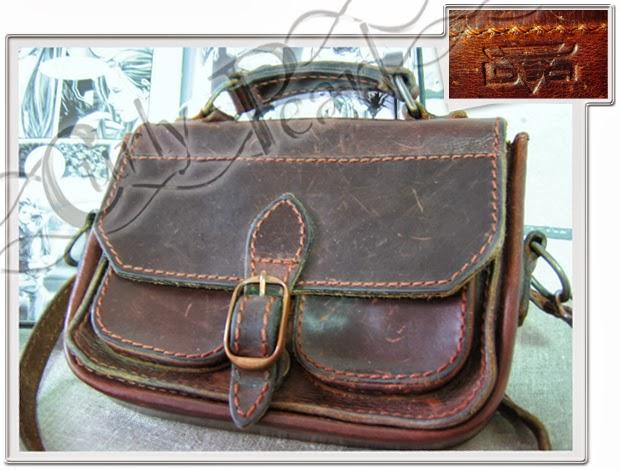 Sattelleder Handtasche