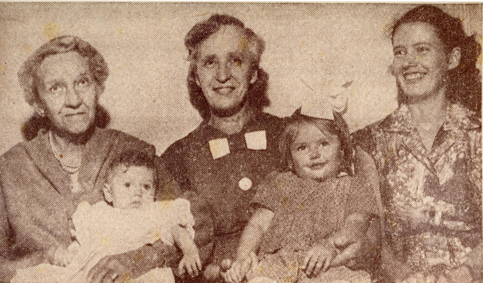 bilde av fire generasjoner