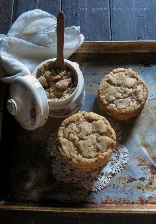 Brown Sugar Toffee Cookies | une gamine dans la cuisine