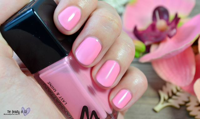 Manhattan Last And Shine Swatches SPRING IT ON