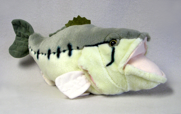 Tapirgal 39 s world blog another one bites it for Fish stuffed animal