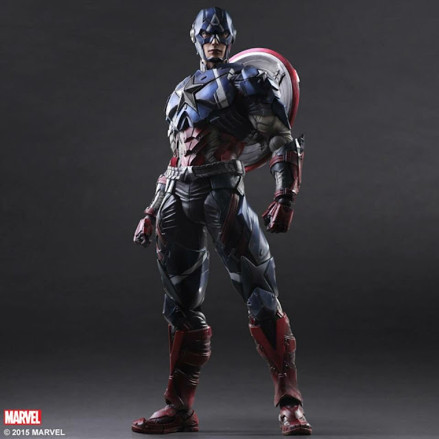 Play Arts Kai Captain America Marvel Universe