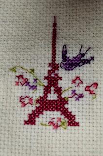 Zabawa wyzwaniowa u Hanulka (4) - Wiosna w Paryżu