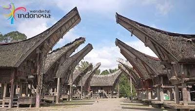 Runah Adat Suku Tana Toraja