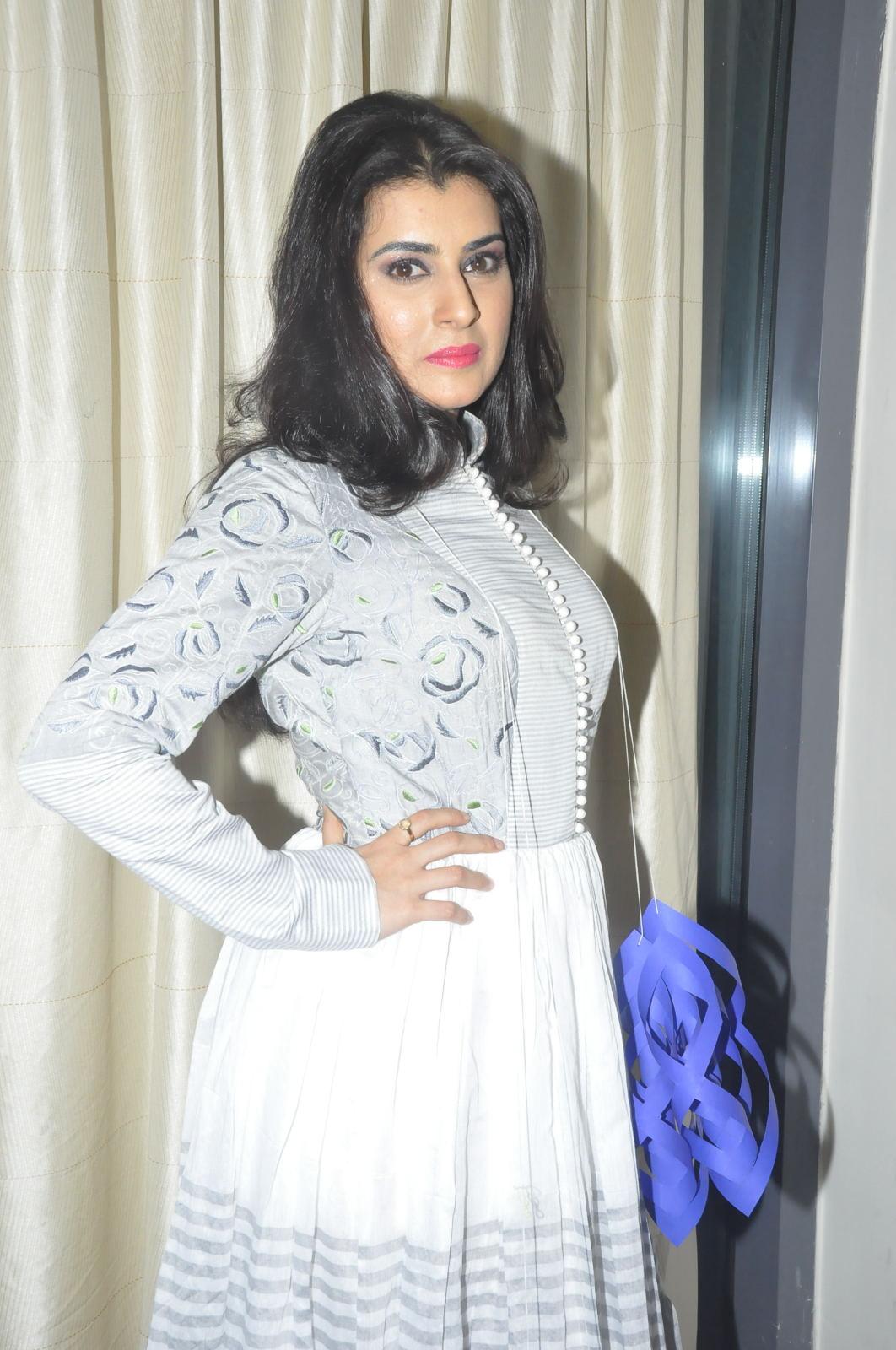 Archana Vedha Beautiful Photo Shoot In White Dress