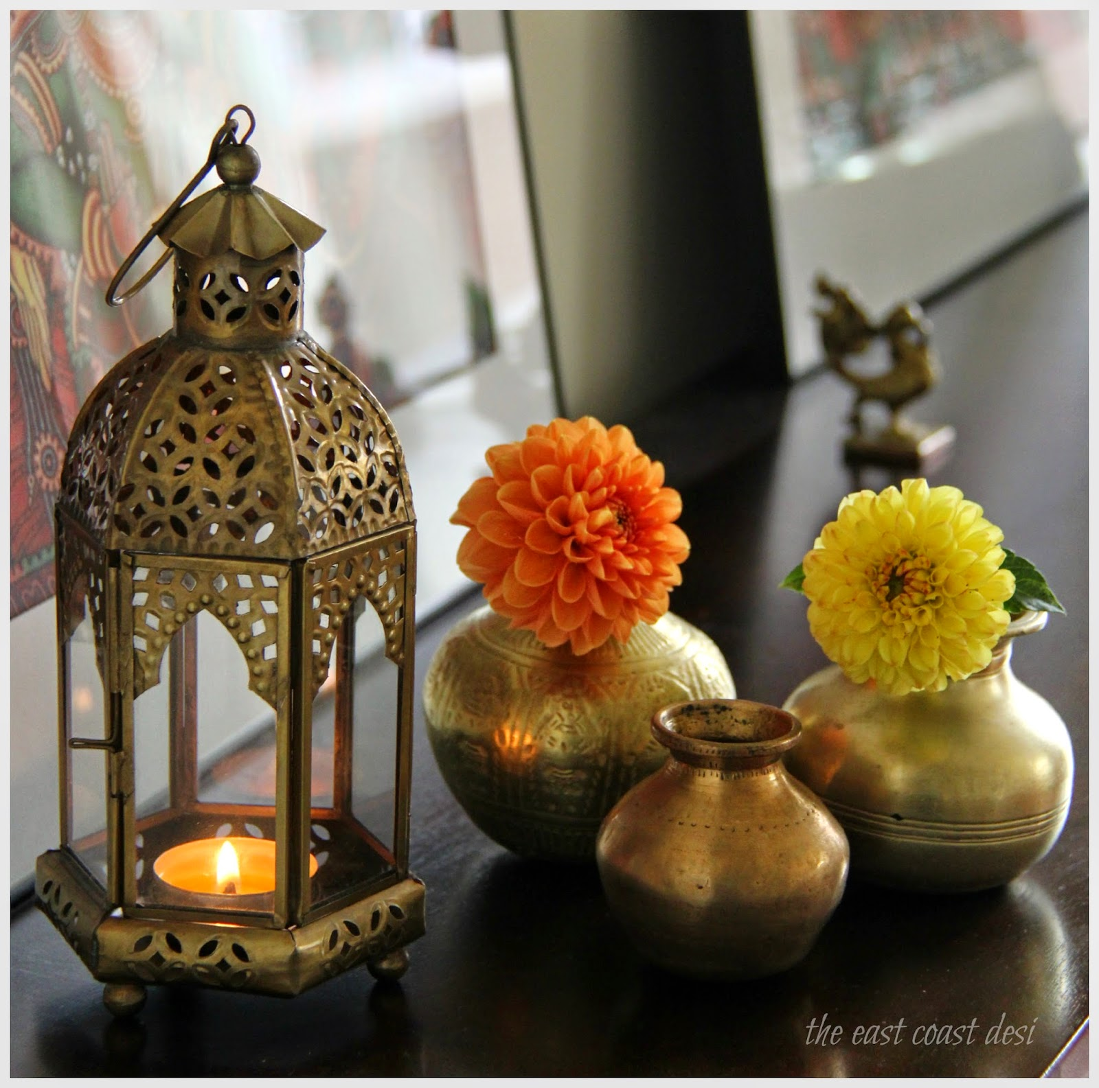 The east coast desi october 2014 for Home decorations ideas for diwali