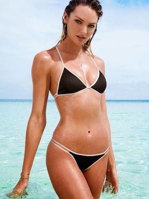 Candice Swanepoel Sexy Victoria's Secret Bikini Model Photoshoot