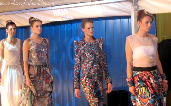 Kristiana Kalnina Collection, Riga Fashion Mood, Latvian designers, Colorful outfits