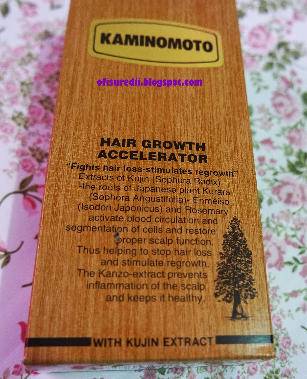 Kaminomoto Hair Growth Accelerator Review Ofisu Redii 150ml Is Produced By Japan Company Since 1908 And Now It Distributed Pt Best Brilliant Indonesia