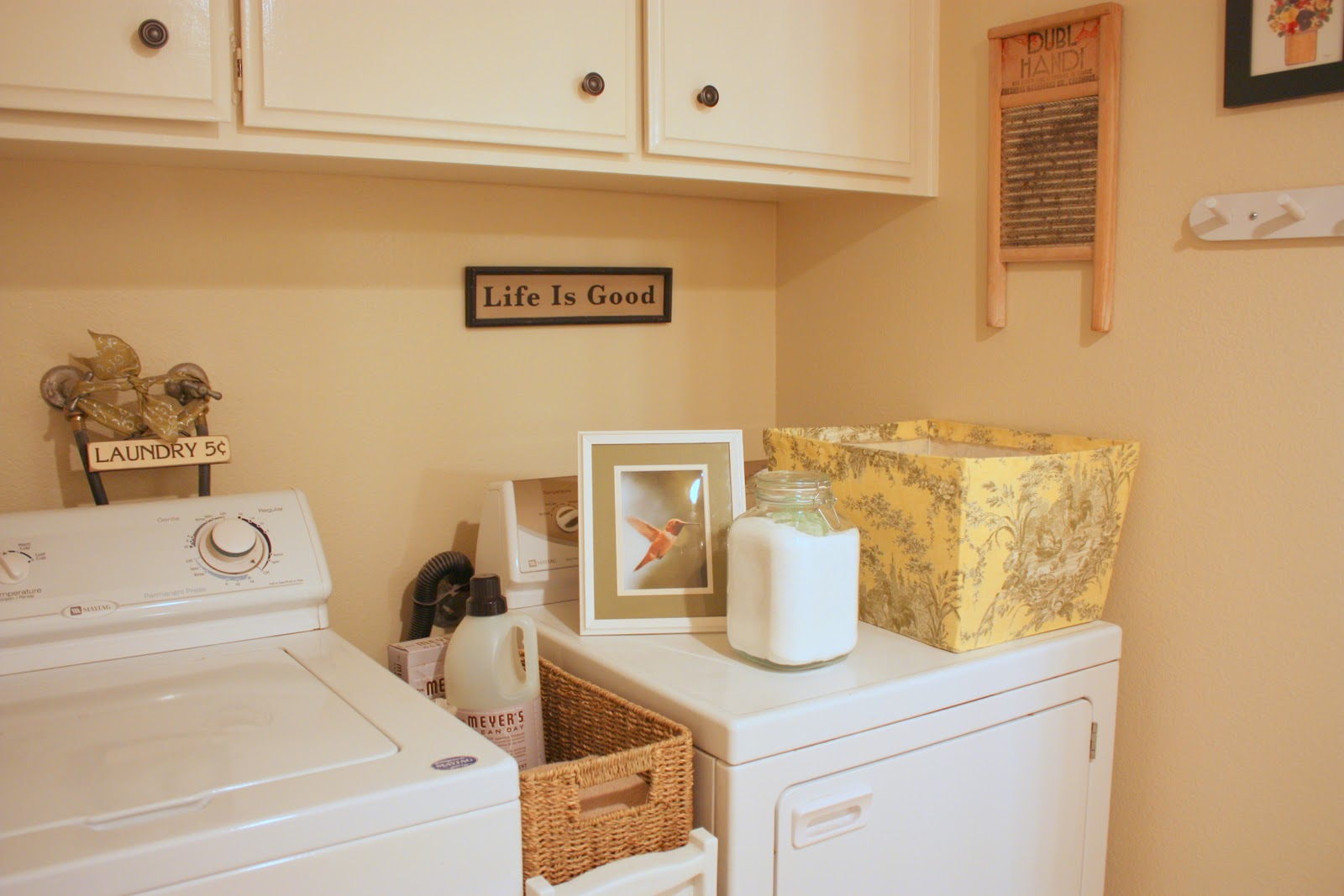 Balanced Style My Humble Laundry Room