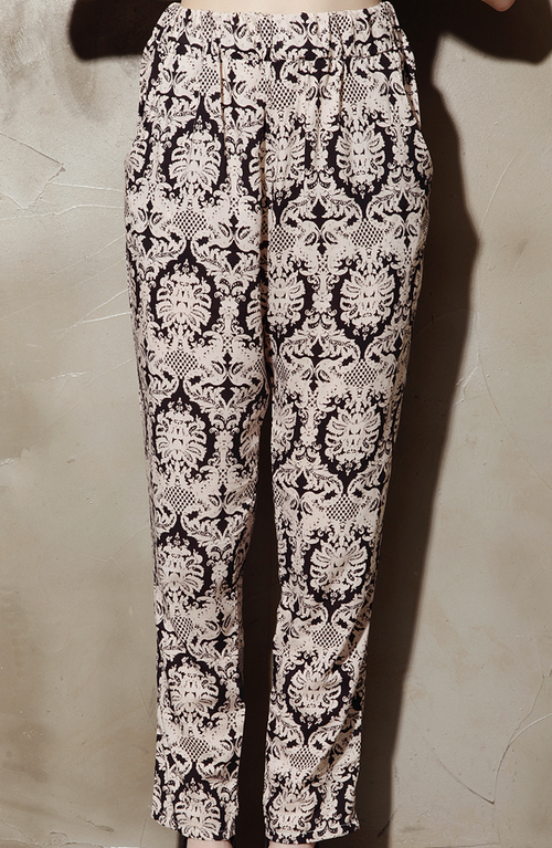 Brocade Harem Pants