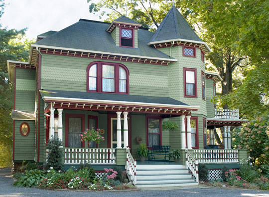 Stunning Victorian Exterior House Paint Color Scheme 540 x 395 · 63 kB · jpeg