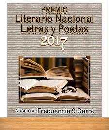 Premio Literario Nacional Letras y Poetas