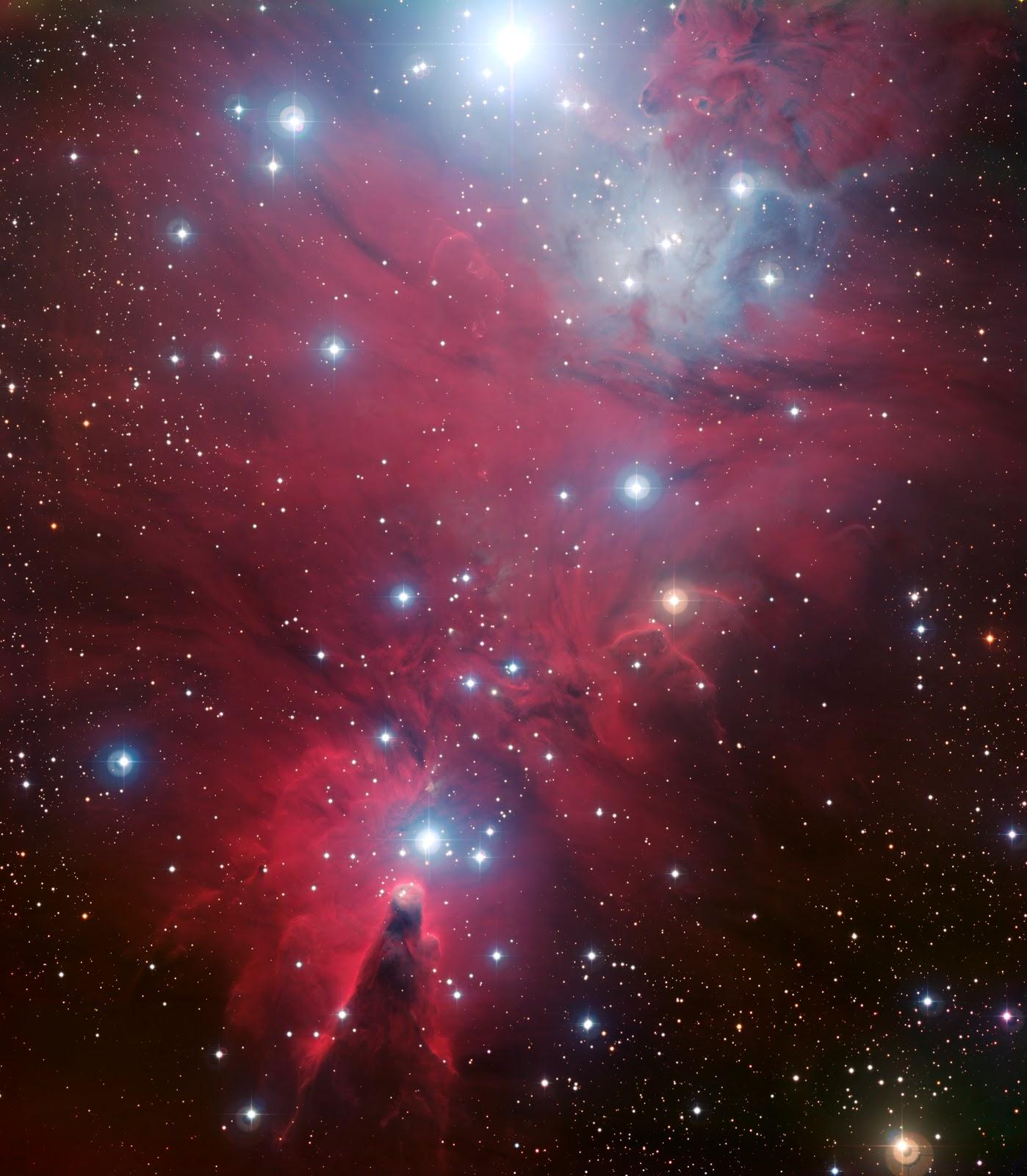 el rbol de navidad se encuentra invertido siendo la estrella que esta justo encima de la nebulosa del cono la cspide del