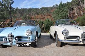 Alfa Romeo Giulietta Spider 101 - Ambas de 1960
