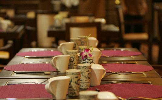 Table Set Up - Au Co Cruise