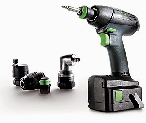 Festool 564524 T 18 Lithium Ion Cordless Drill Set Review