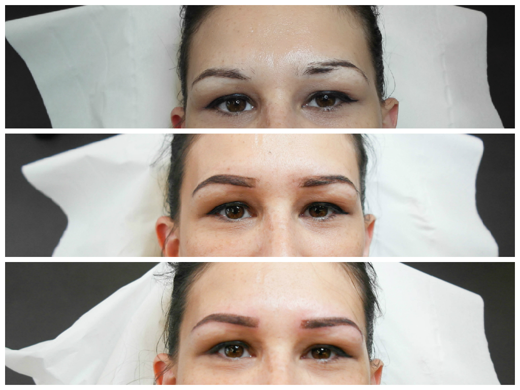 avant /après micro pigmentation chez le boudoir du regard