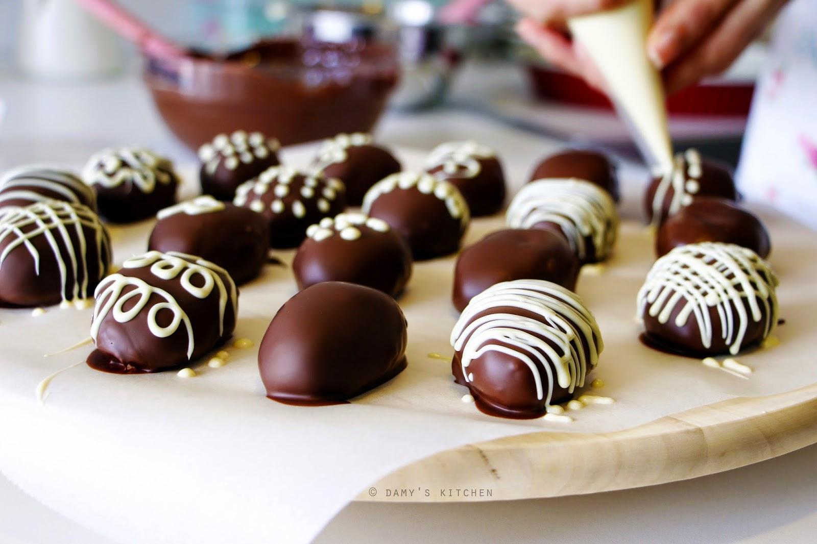 Beyaz çikolatalı truff tarifi