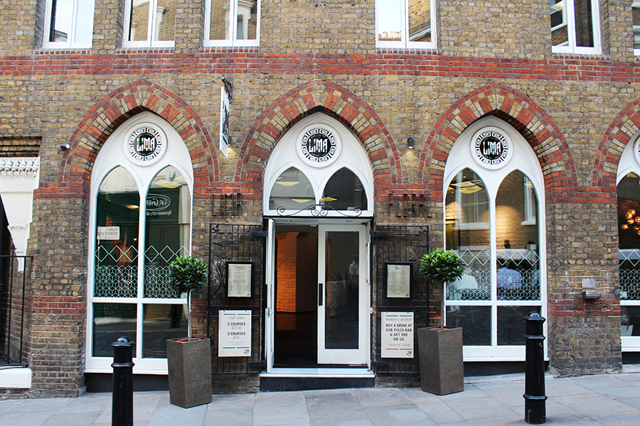 Lima Floral Peruvian Restaurant and Pisco Bar, Covent Garden London