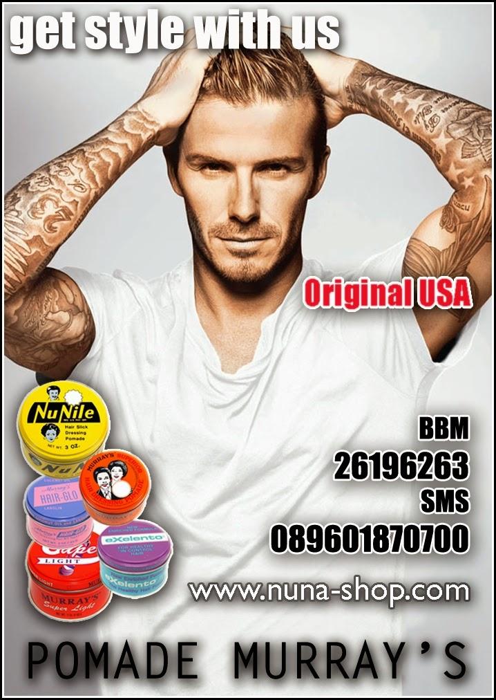 Banner Toko Online Jual Minyak Rambut Pomade Murrays Original USA Terpercaya