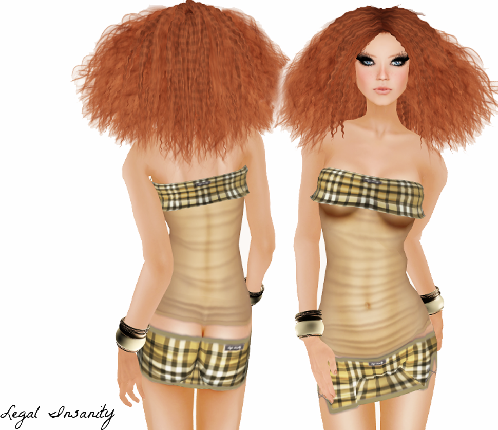 Women Collection - gee funky girl outfit - Legal Insanity