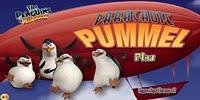 Пингвины на шоу воздушных шаров