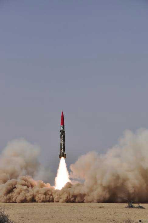 Hatf III ( Ghaznavi) Ballsitic Missile Of Pakistan Army