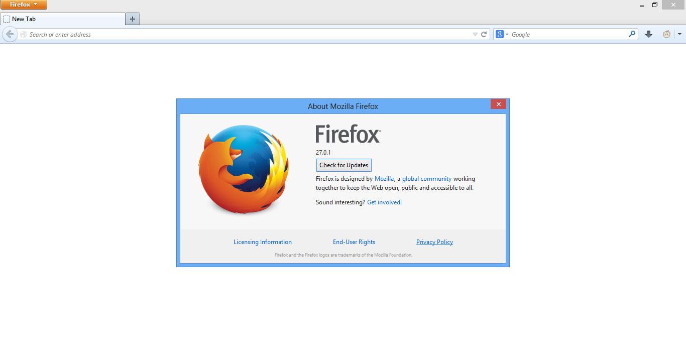 Cara Mengubah Halaman Awal Mozilla Firefox versi 28