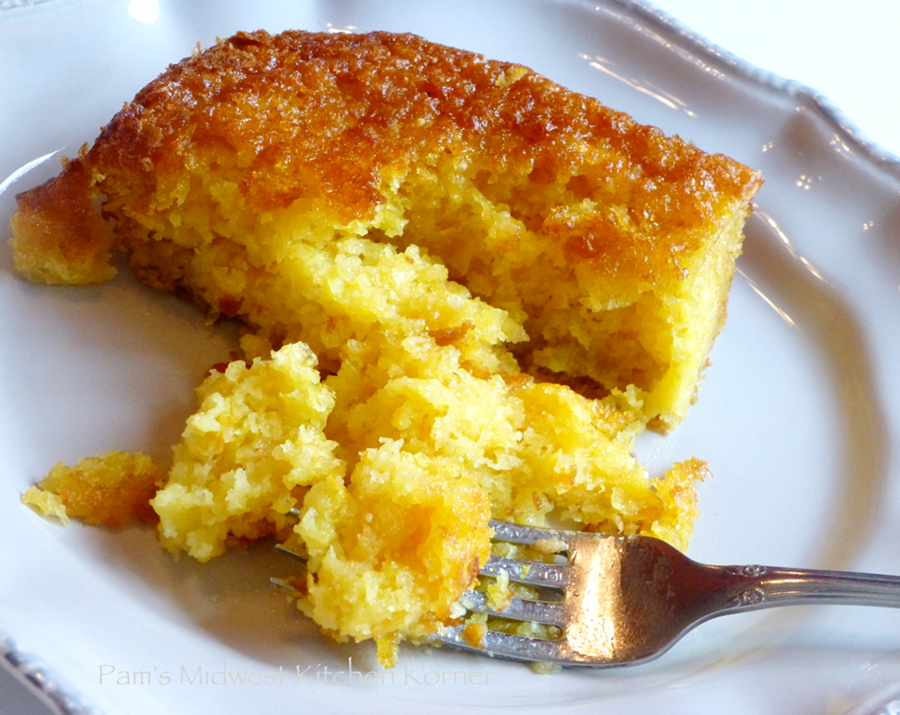 Pam's Midwest Kitchen Korner: Corn Pudding