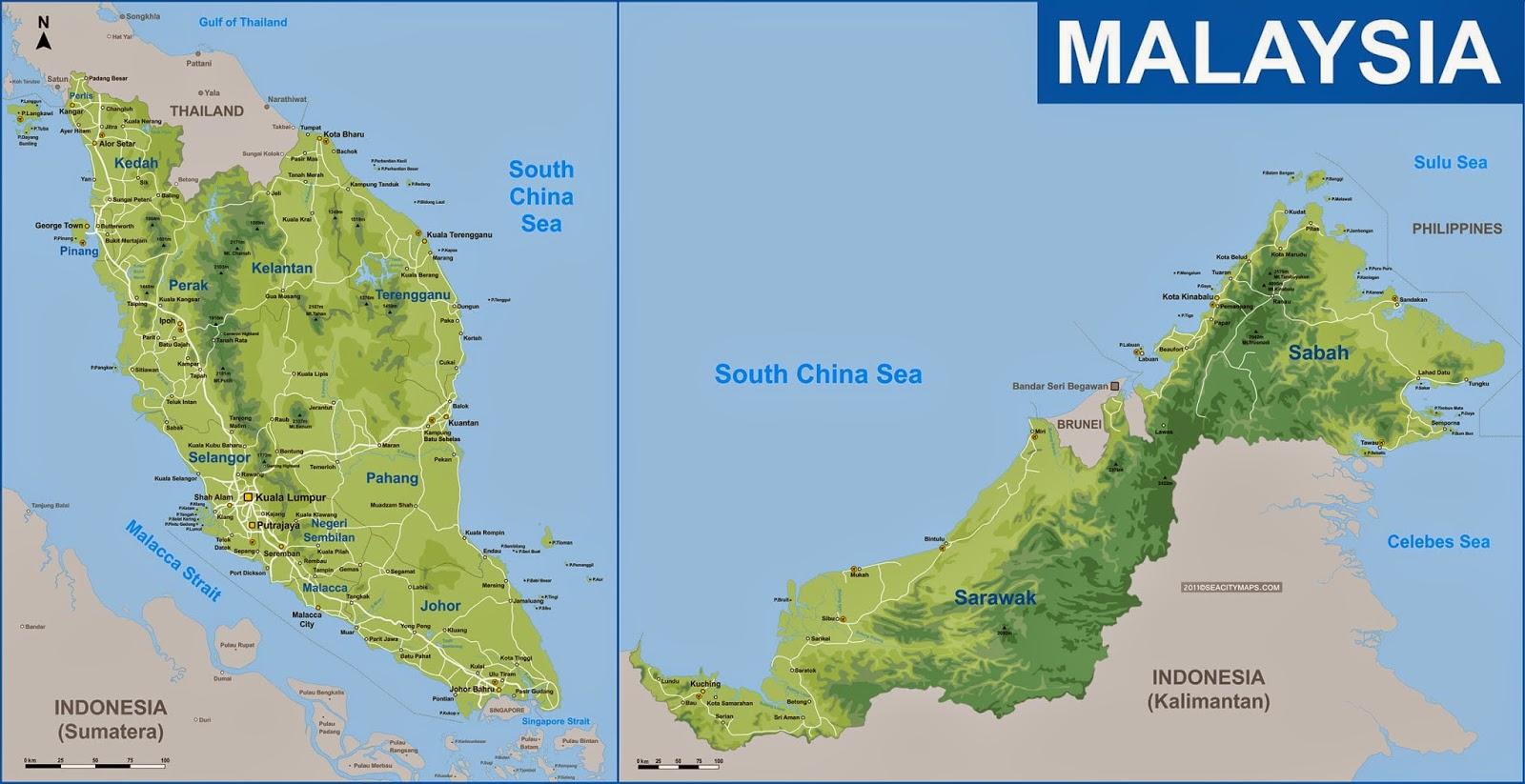 Malaysia in The Map Malaysia Track