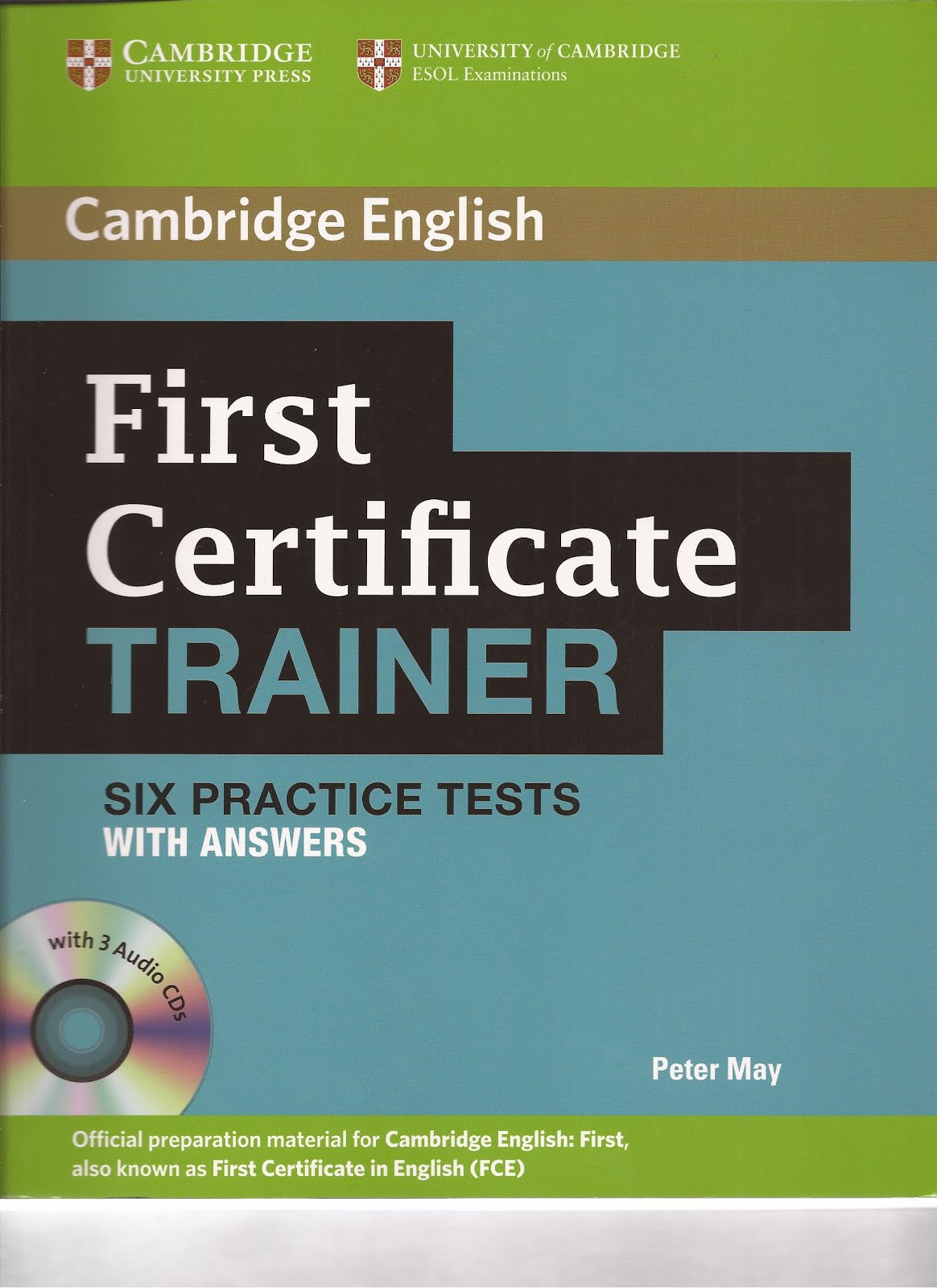 CAMBRIDGE - TRAINER BOOK