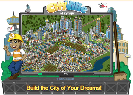 Top 10 List of Most Popular Facebook Games 2013 CITY VILLE